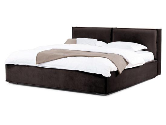 Ліжко Скарлет 200x200 Коричневий 2 -1