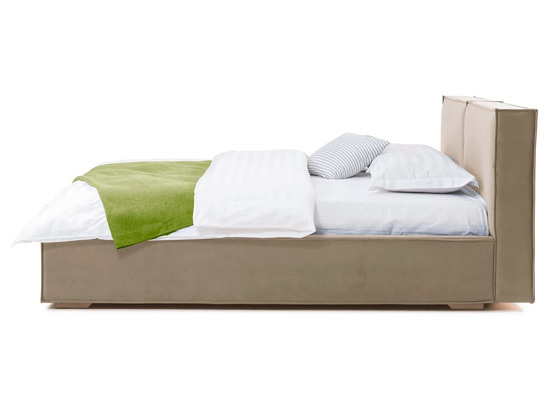 Ліжко Скарлет Luxe 200x200 Бежевий 4 -3