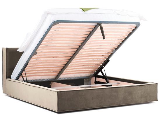 Ліжко Скарлет Luxe 200x200 Бежевий 2 -4
