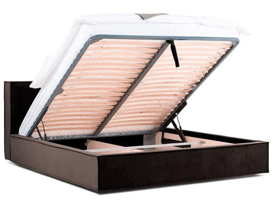 Ліжко Скарлет Luxe 200x200 Коричневий 3 -4
