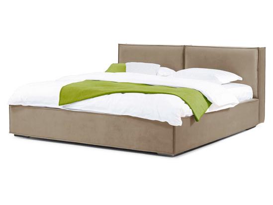 Ліжко Скарлет Luxe 200x200 Бежевий 3 -1