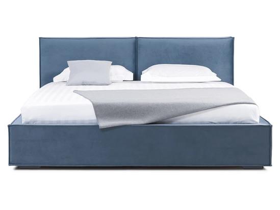 Ліжко Скарлет 200x200 Синій 4 -2
