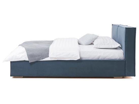 Ліжко Скарлет 200x200 Синій 4 -3