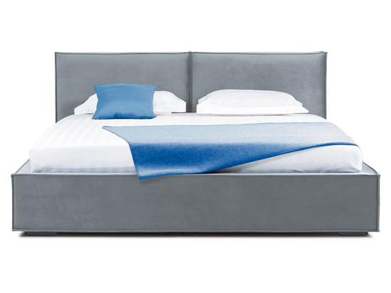 Ліжко Скарлет 200x200 Сірий 4 -2