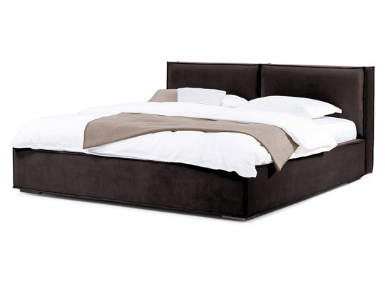 Ліжко Скарлет 200x200 Коричневий 5 -1