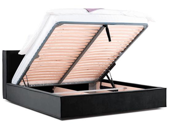 Ліжко Скарлет Luxe 200x200 Чорний 5 -4