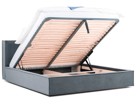 Ліжко Скарлет Luxe 200x200 Сірий 5 -4