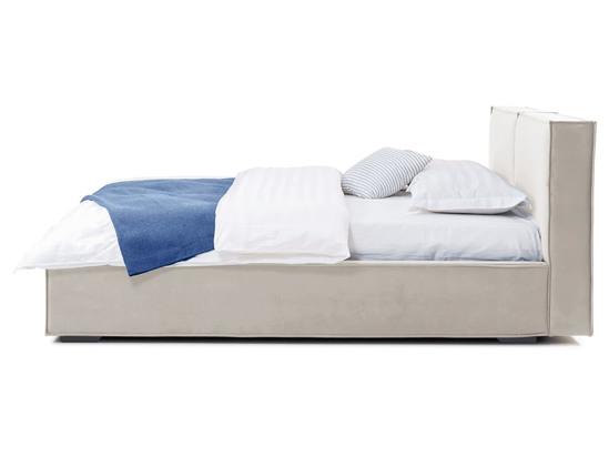 Ліжко Скарлет 200x200 Білий 6 -3