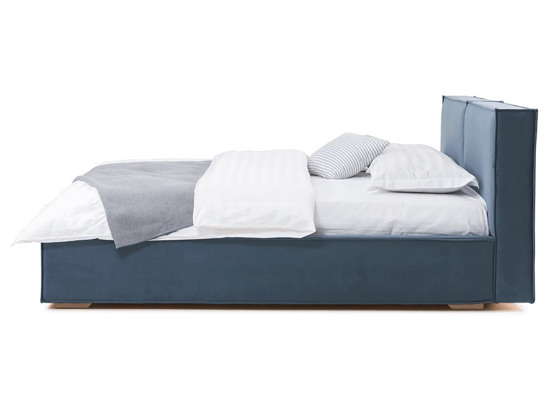 Ліжко Скарлет 200x200 Синій 6 -3