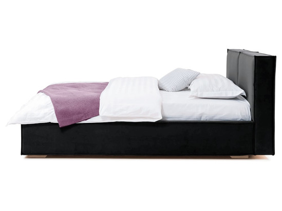 Ліжко Скарлет 200x200 Чорний 8 -3