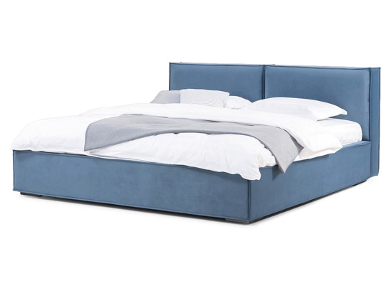 Ліжко Скарлет Luxe 200x200 Синій 8 -1