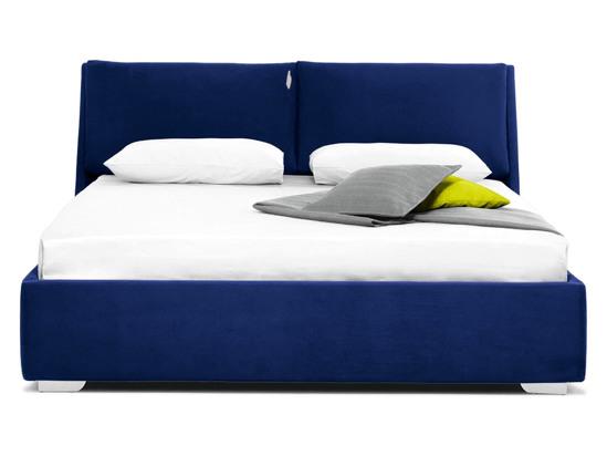 Ліжко Стелла Luxe 200x200 Синій 2 -2