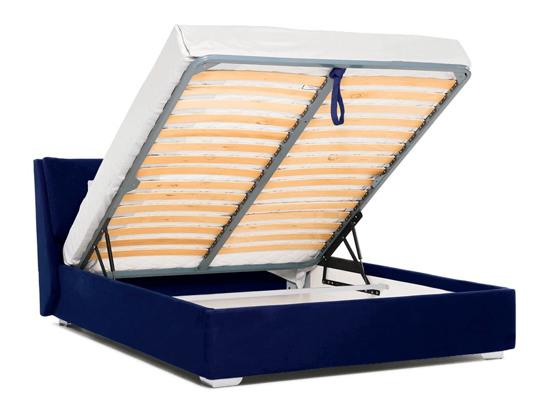 Ліжко Стелла Luxe 200x200 Синій 2 -4