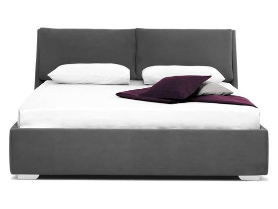 Ліжко Стелла 200x200 Сірий 2 -2