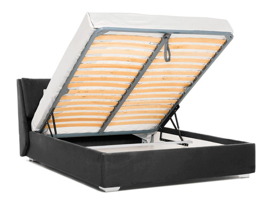 Ліжко Стелла Luxe 200x200 Сірий 7 -4