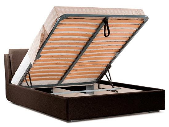 Ліжко Стеффі Luxe 200x200 Коричневий 2 -4