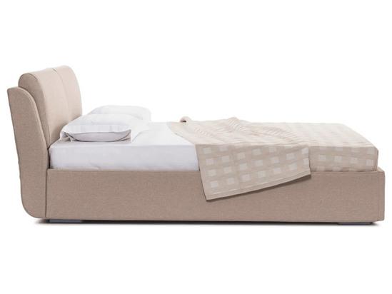 Ліжко Стеффі Luxe 200x200 Бежевий 4 -3