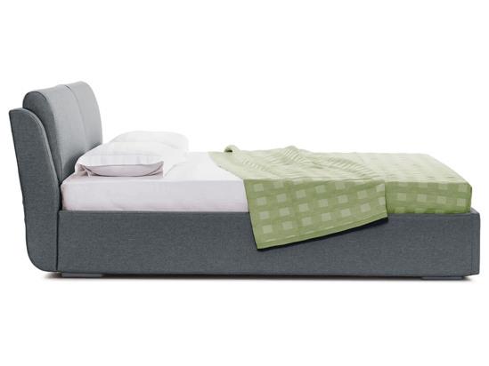 Ліжко Стеффі Luxe 200x200 Сірий 4 -3