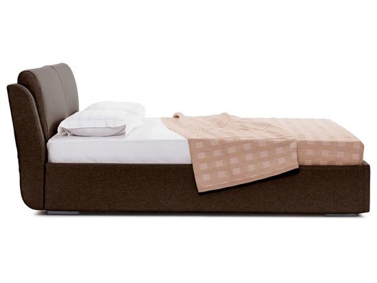 Ліжко Стеффі Luxe 200x200 Коричневий 4 -3