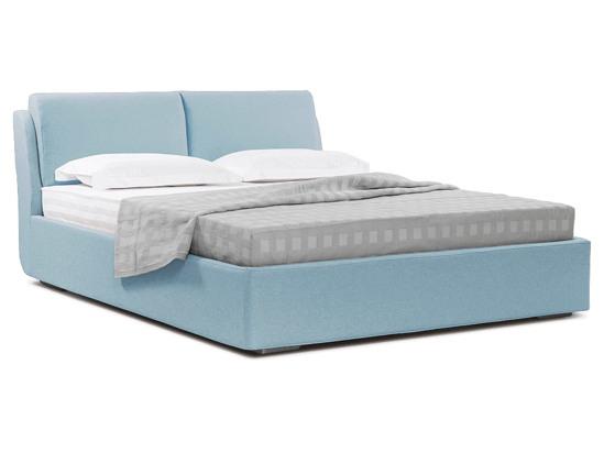 Ліжко Стеффі Luxe 200x200 Синій 3 -1