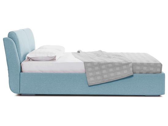 Ліжко Стеффі Luxe 200x200 Синій 3 -3