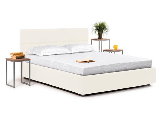 Ліжко Лаура Luxe 200x200 Білий 3 -1