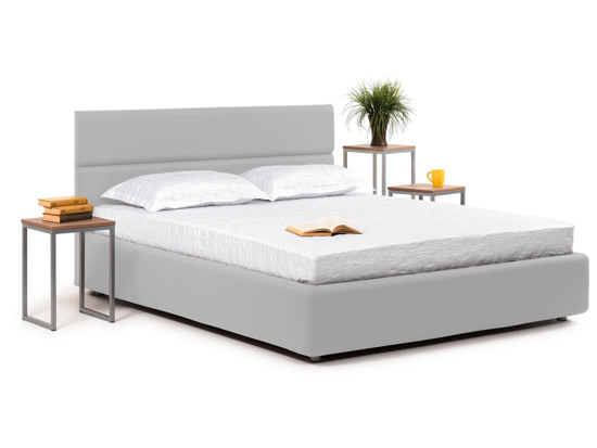 Ліжко Лаура Luxe 200x200 Сірий 8 -1