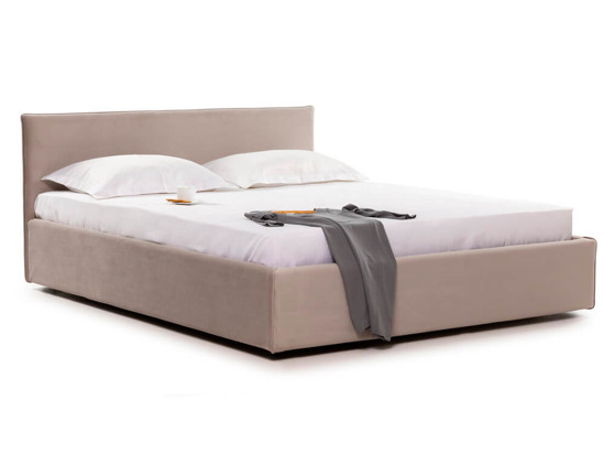 Ліжко Паула Luxe 200x200 Бежевий 3 -1