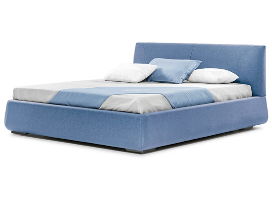 Ліжко Фаїна 200x200 Синій 2 -1