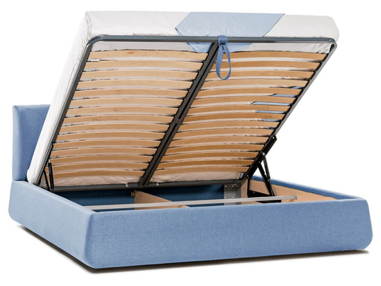 Ліжко Фаїна Luxe 200x200 Синій 7 -4