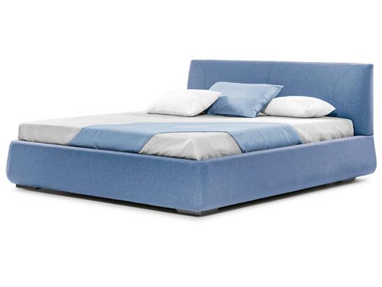 Ліжко Фаїна Luxe 200x200 Синій 4 -1