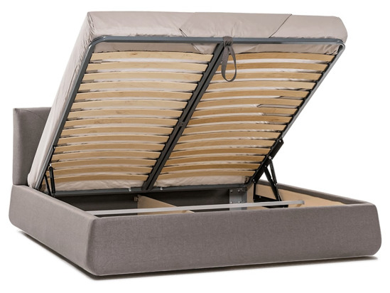 Ліжко Фаїна Luxe 200x200 Коричневий 4 -4
