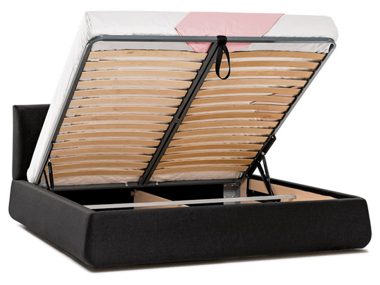 Ліжко Фаїна Luxe 200x200 Чорний 3 -4
