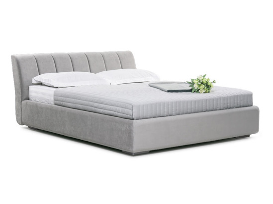 Ліжко Барбара 200x200 Сірий 4 -1