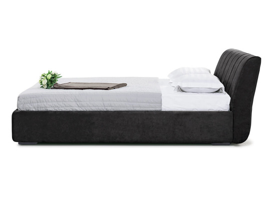 Ліжко Барбара Luxe 200x200 Чорний 7 -3