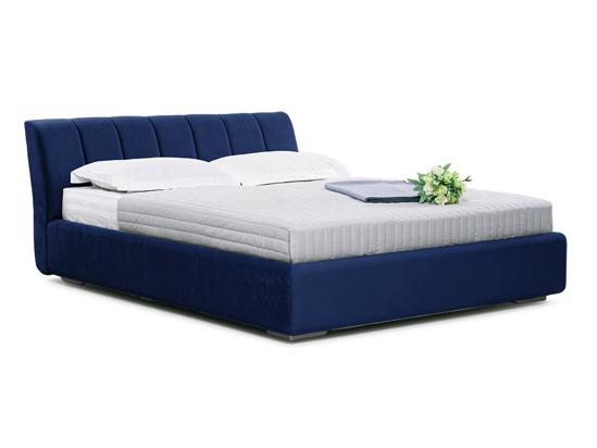 Ліжко Барбара Luxe 200x200 Синій 4 -1