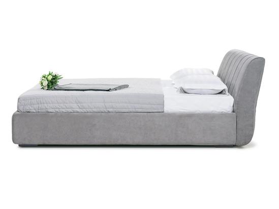 Ліжко Барбара Luxe 200x200 Сірий 4 -3