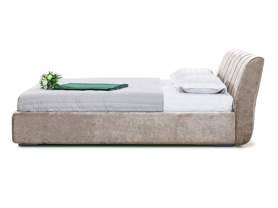 Ліжко Барбара Luxe 200x200 Бежевий 5 -3
