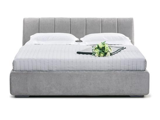 Ліжко Барбара Luxe 200x200 Сірий 3 -2
