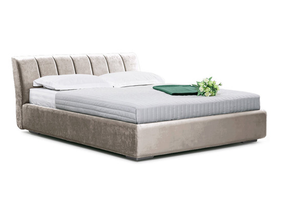Ліжко Барбара Luxe 200x200 Бежевий 3 -1