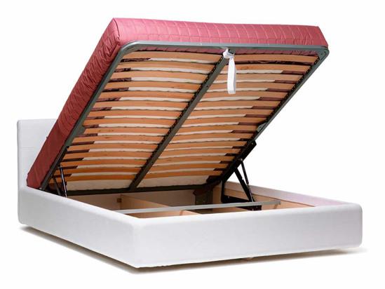 Ліжко Джулія Luxe 200x200 Білий 2 -4