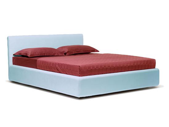 Ліжко Джулія Luxe 200x200 Синій 3 -1