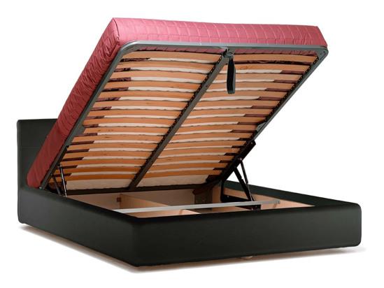 Ліжко Джулія Luxe 200x200 Чорний 5 -4
