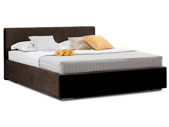 Ліжко Єва міні 200x200 Коричневий 4 -1