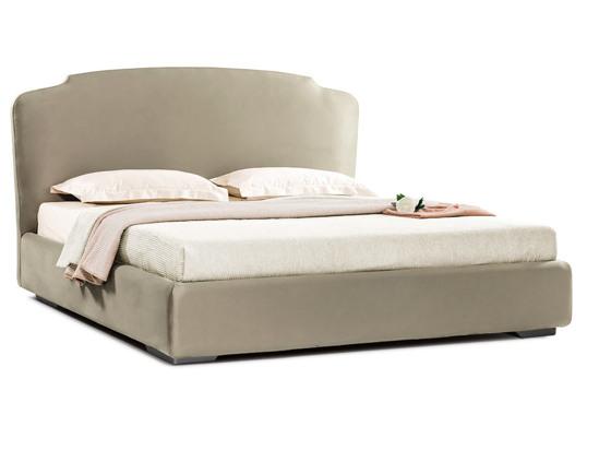 Ліжко Клео Luxe 200x200 Сірий 7 -1