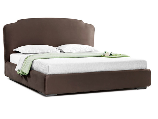 Ліжко Клео Luxe 200x200 Коричневий 7 -1