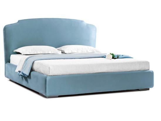 Ліжко Клео Luxe 200x200 Синій 3 -1