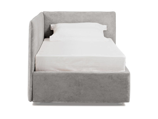 Ліжко Полина 140x200 Сірий 2 -2