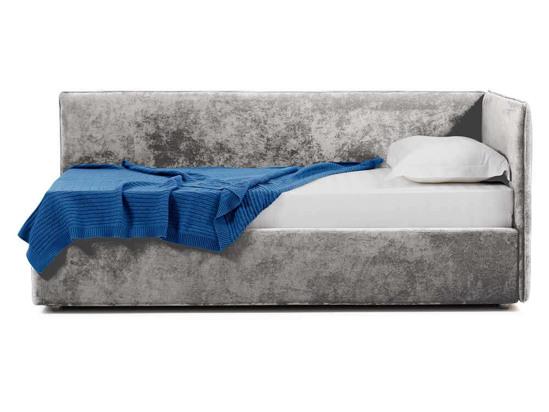 Ліжко Полина 140x200 Сірий 2 -3