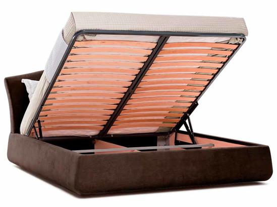 Ліжко Марго Luxe 140x200 Коричневий 2 -4